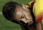 craques do barça: Neymar joga mais tempo que Messi, mas sai zerado