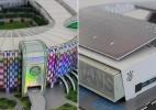 Corinthians e Palmeiras: Miniaturas ajudam torcida a conhecer novas arenas