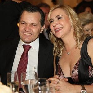 A ex-primeira-dama de Mato Grosso Roseli Barbosa ao lado do marido e ex-governador Silval Barbosa