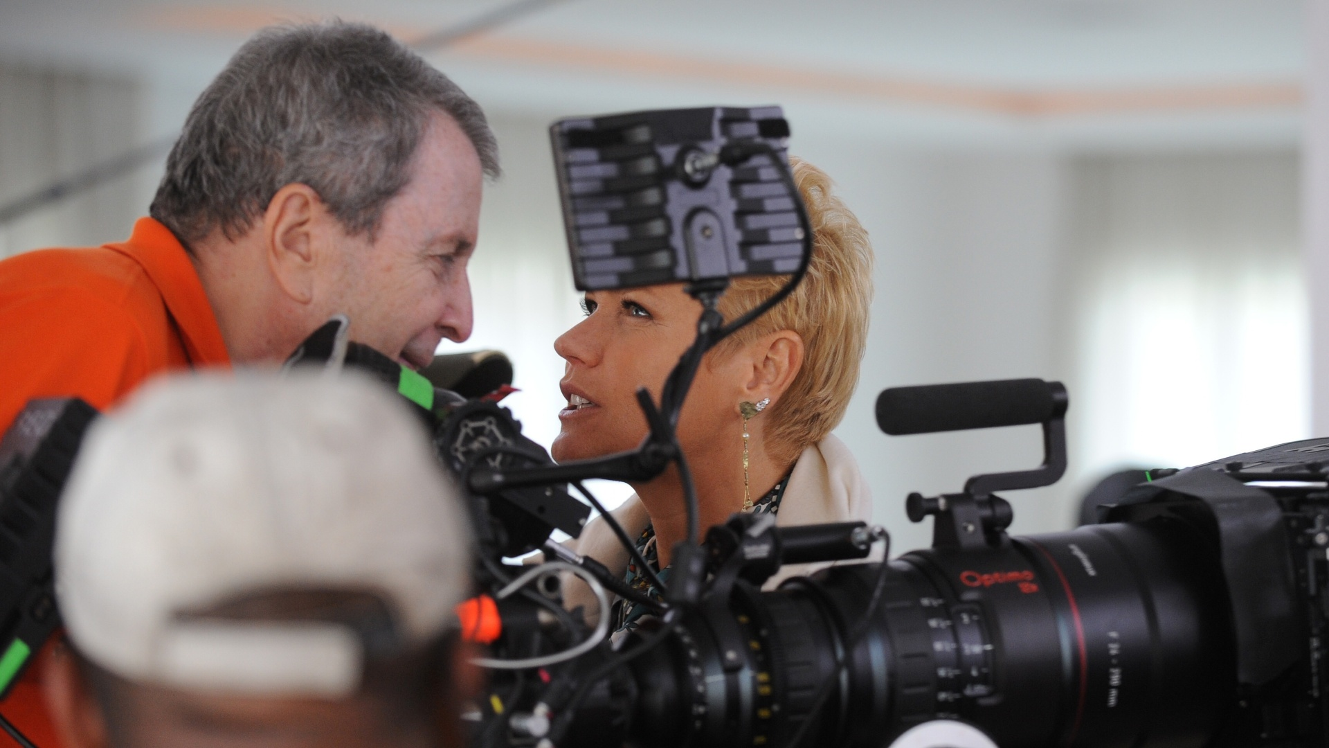 Xuxa nos bastidores da srie 