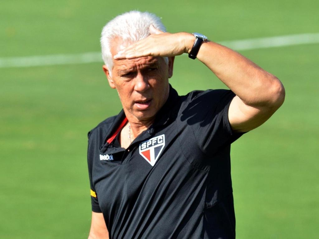 O técnico Emerson Leão, do São Paulo