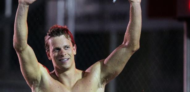 Cielo encerrou o Sul-Americano de Esportes Aquáticos com cinco medalhas de ouro