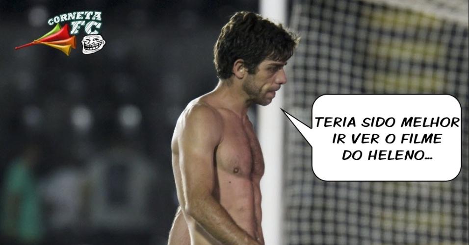 Juninho Pernambucano desabafa após derrota para Botafogo: 'seria melhor ter ido ver o filme do Heleno'