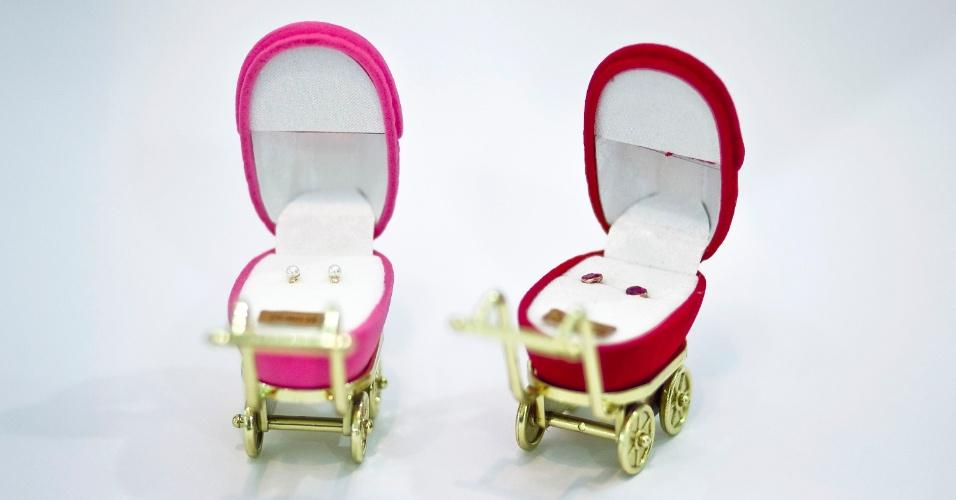 Brincos para bebê da Jully Nany à venda na Feira do Bebê, Gestante e Criança (20/3/2012)