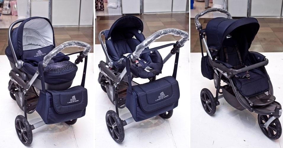 Carrinho de bebê da marca italiana Cam