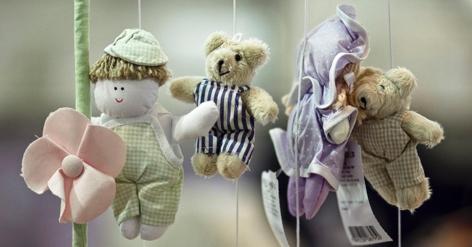 Mobiles expostos na Feira do Bebê, Gestante e Criança 2012