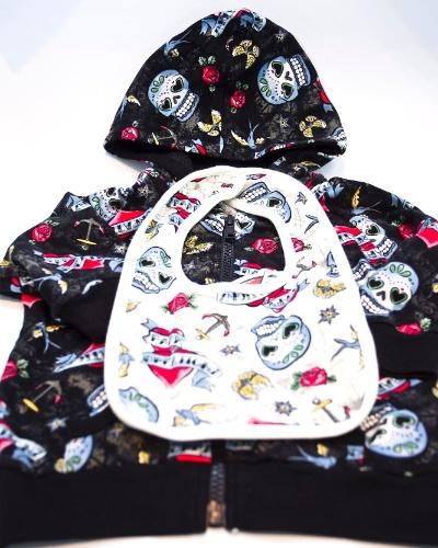 Roupinhas de bebê da Body Creation à venda na Feira do Bebê, Gestante e Criança (20/3/2012)