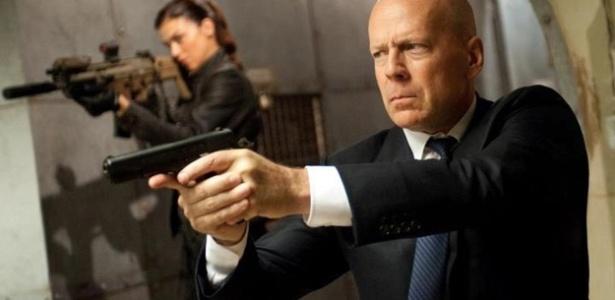Bruce Willis em cena de