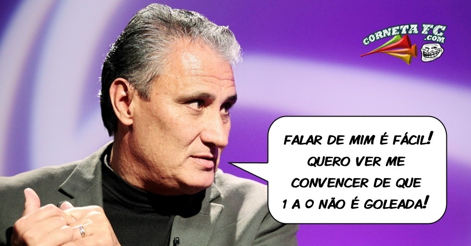 Corneta FC: Tite aposta em goleadas magras