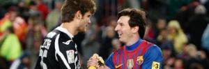 pelo mundo: Vítima de Messi em jogo de recorde pelo Barça, brasileiro diz que está na história