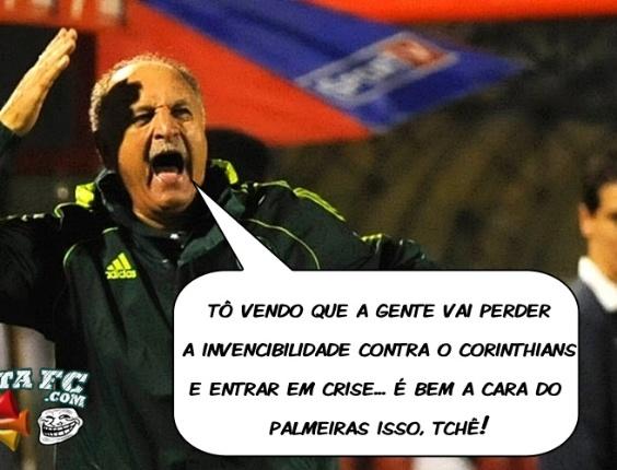 Corneta FC: Felipão faz previsão pessimista sobre o Palmeiras