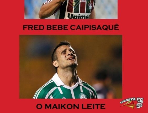 Corneta FC: Fred bebe caipisaquê? E o Maikon, Leite