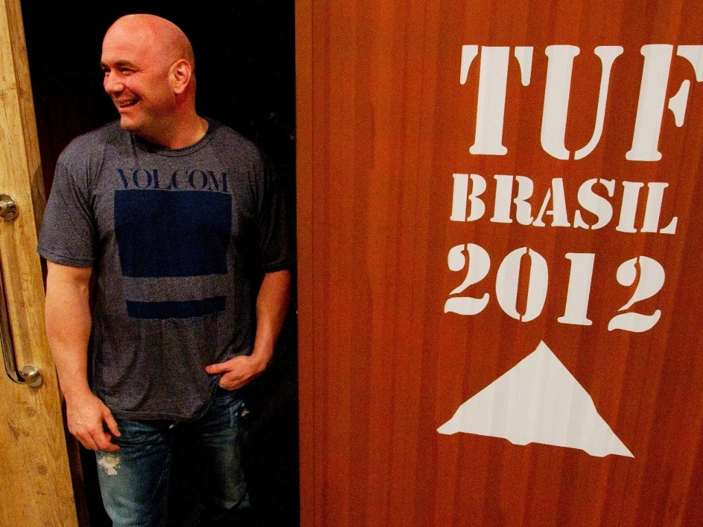 Dana White vai aparecer na maioria dos episdios, ao lado dos tcnicos Vitor Belfort e Wanderlei Silva, que se enfrentam ao fim da temporada