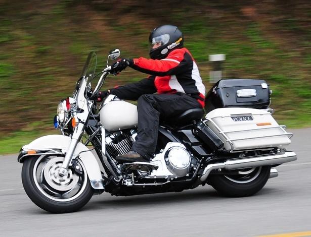 Harley-Davidson Road King Police: marca instalou-se no Brasil de vez e virou mania