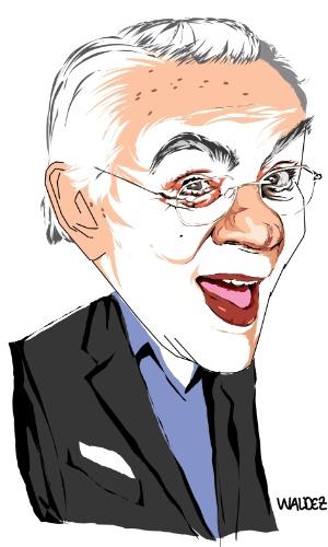 Chico Anysio pelo cartunista Waldez
