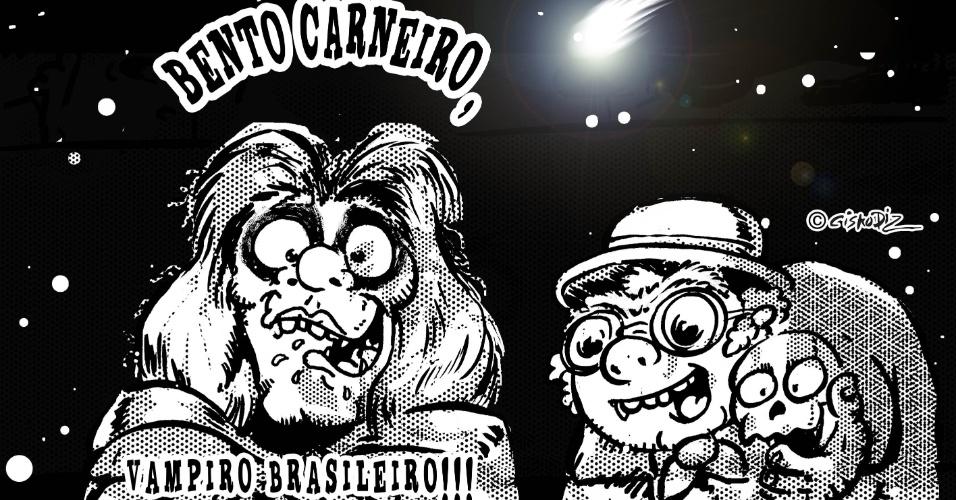 Cisko Diz redesenha o personagem Bento Carneiro