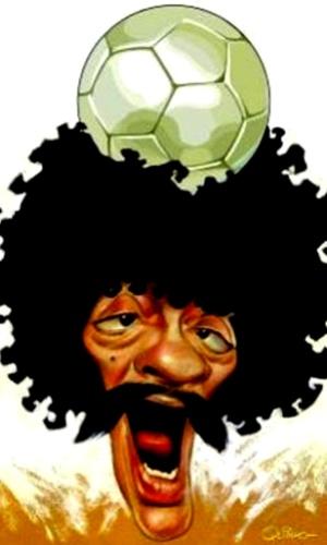 Coalhada, um dos personagens mais populares de Chico Anysio, nos traços do cartunista Quinho