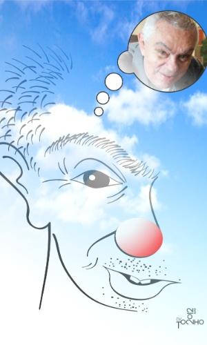 Homenagem do cartunista Tonho Oliveira a Chico Anysio