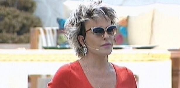 Ana Maria Braga faz visita na casa do Big Brother Brasil (26/3/12)
