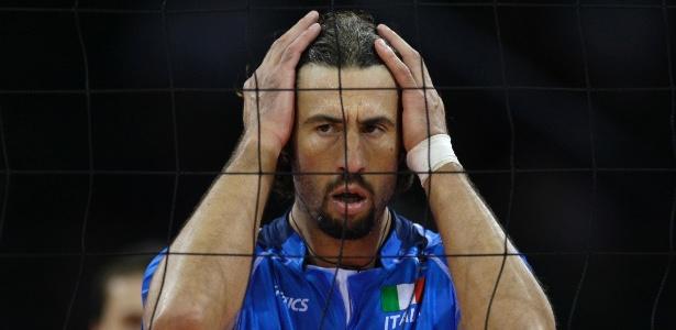 Vigor Bovolenta conquistou a medalha de prata com a seleção italiana em Atlanta-1996