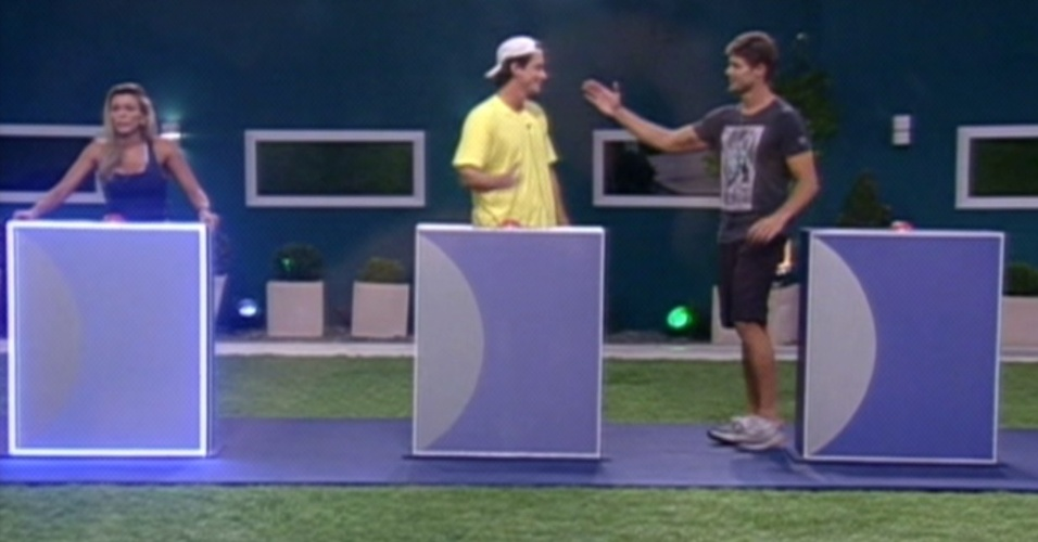 Os brothers Fael e Jonas se enfrentam no ltimo paredo do programa (26/3/12)