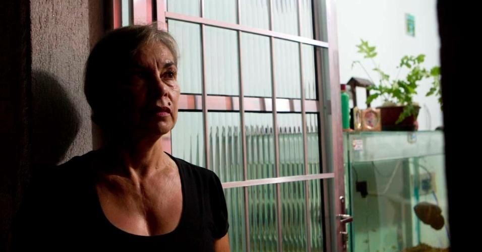 Ivone de Gasperi, mãe do torcedor, Rodrigo de Gasperi, morto em 1992