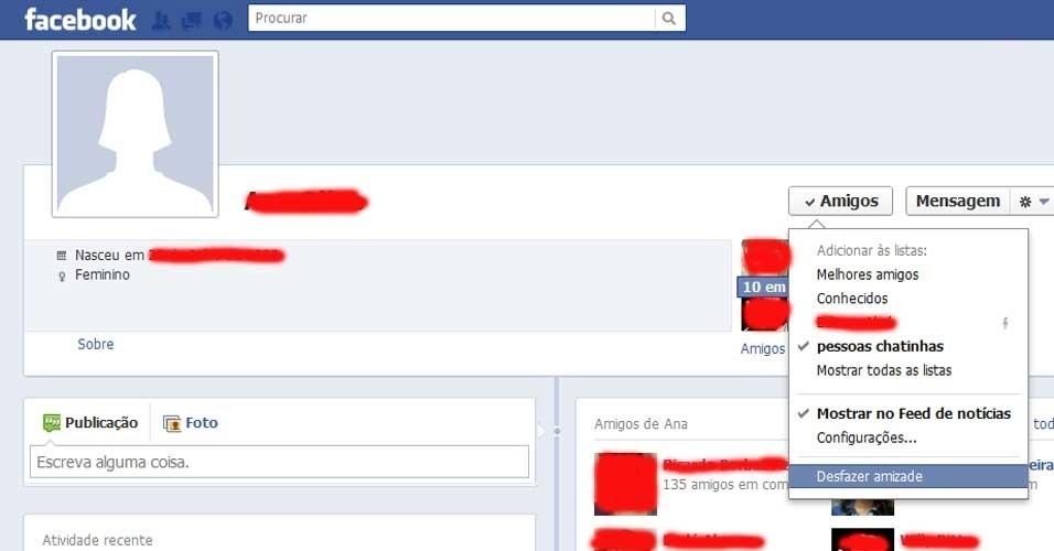 Bloquear chatos no Facebook