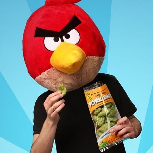 Brincadeira de 1º de abril do site Think Geek envolvendo Angry Birds