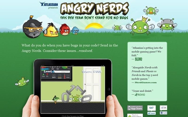 Brincadeira de 1º de abril faz referência ao jogo Angry Birds