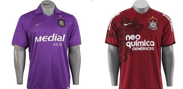 Em 2008, clube passou a investir na cor roxa; ano passado foi a vez do grená/vinho