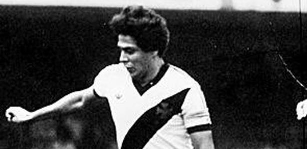 O jogador Roberto Dinamite, do Vasco da Gama
