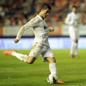 Atacante Cristiano Ronaldo teve suas chuteiras roubadas do vestiário do Real Madrid, em Munique
