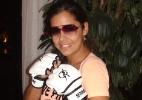 nova ring girl: Larissa Riquelme estreia no MMA e diz admirar A. Silva