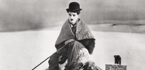 O ator Charles Chaplin em cena do filme The Gold Rush (30/6/2003)
