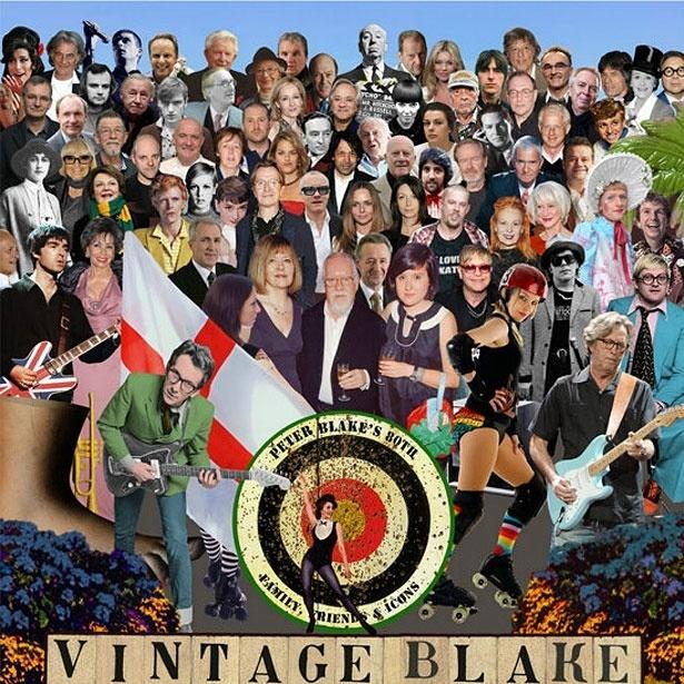 magens de Peter Blake, cortesia do Vintage Festival