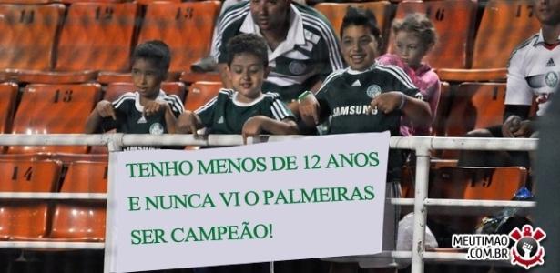 Corneta FC: Pequenos palmeirenses reclamam por já terem nascido na fila