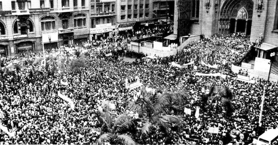 Marcha da Família com Deus pela Liberdade, em 19 de março de 1964