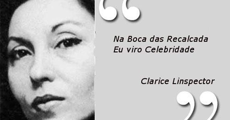 Escritora clarice lispector uma das maiores autoras de frase de