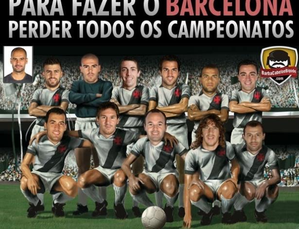 Corneta FC: Descobrimos a única maneira do Barça não ser campeão