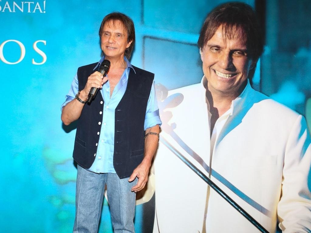Roberto Carlos lança DVD
