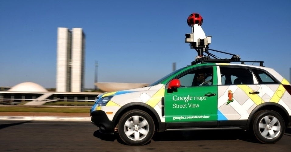 Carro do Google Street View em Brasília (Distrito Federal)