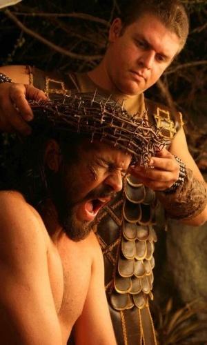 """O ator pernambucano José Barbosa durante os ensaios da """"Paixão de Cristo"""" de Nova Jerusalém, em Pernambuco"""