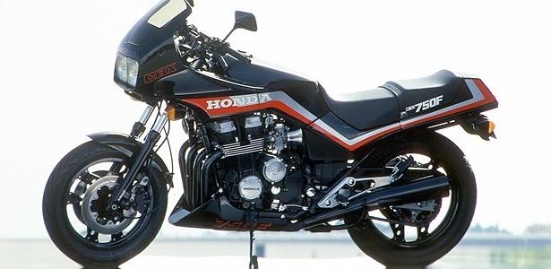 Honda CBX 750F: em 1986, demanda permitiu que fosse vendida pelo triplo do preço sugerido