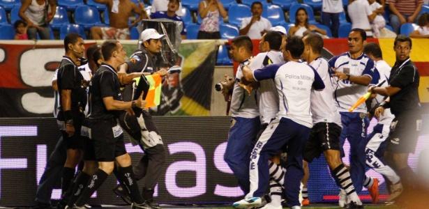 Assim como o Vasco e Flamengo de sábado, a confusão está formada no futebol carioca