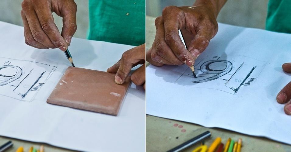 Fotos personalize a sua casa pintando voc mesmo os - Pintura de azulejos ...