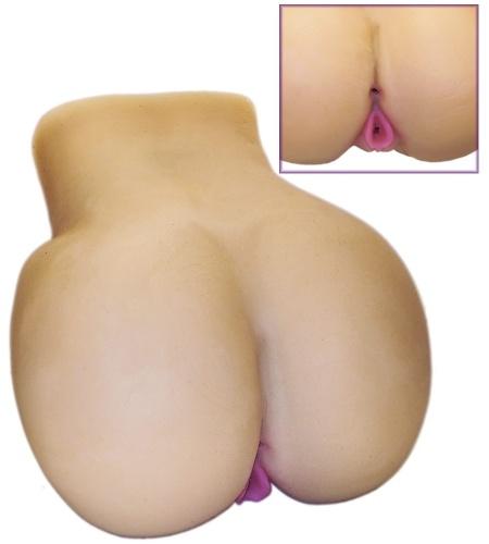 Brinquedo erótico Vagina e ânus Mega Hot da Sex Toy