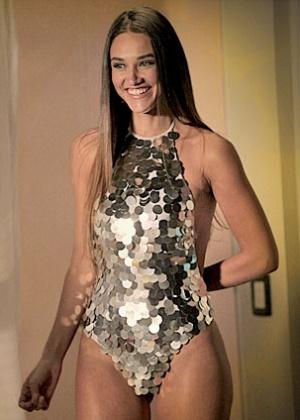 """Musa de """"Avenida Brasil"""", Débora Nascimento diz que já pesou 20 kg a ..."""
