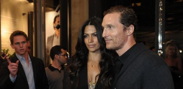 O casal em evento de São Paulo (10/4/12)