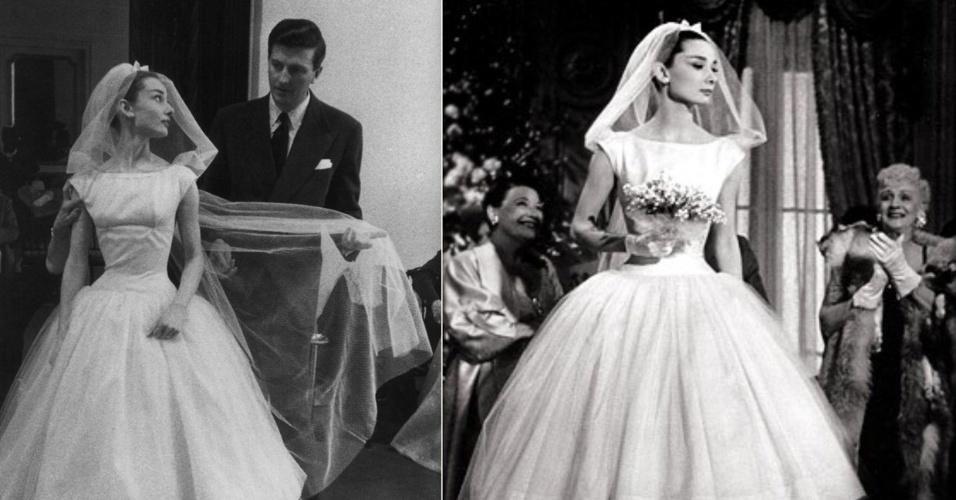 Noivas de cinema - Audrey Hepburn no musical