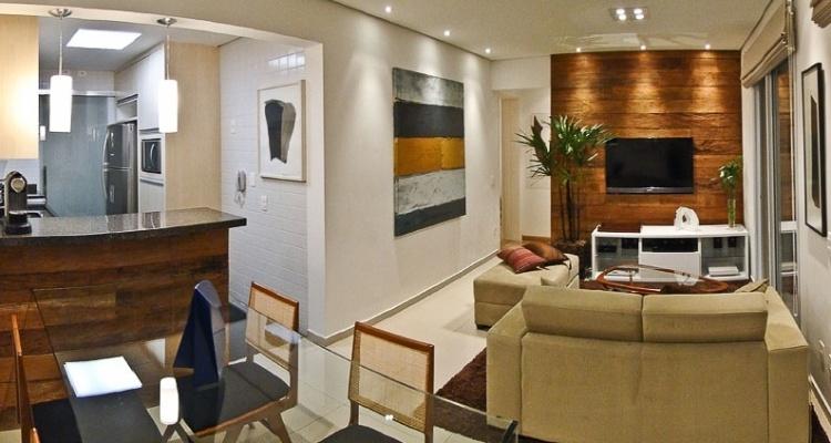 Fotos elementos da decora o ajudam a ampliar espa o em for 60m2 apartment design